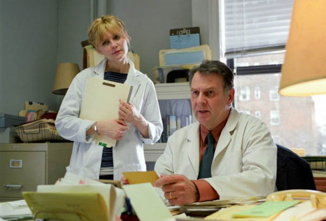 Dr. Howard Mierzwiak and assistant Mary