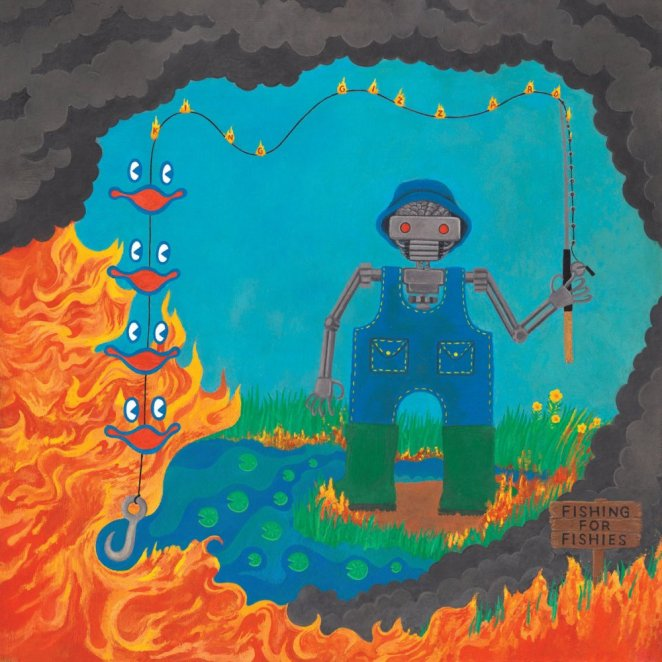 Album cover for Fishing for FIshies by King Gizzard and the LIzard Wizard