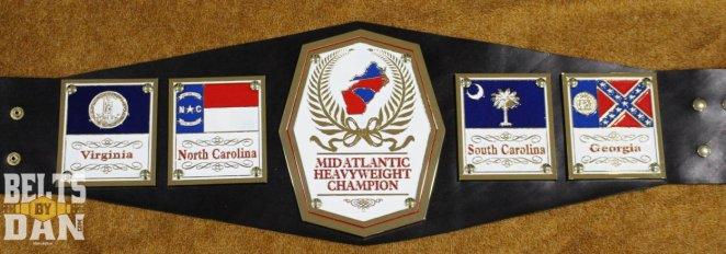 Mid-Atlantic Championship Title belt