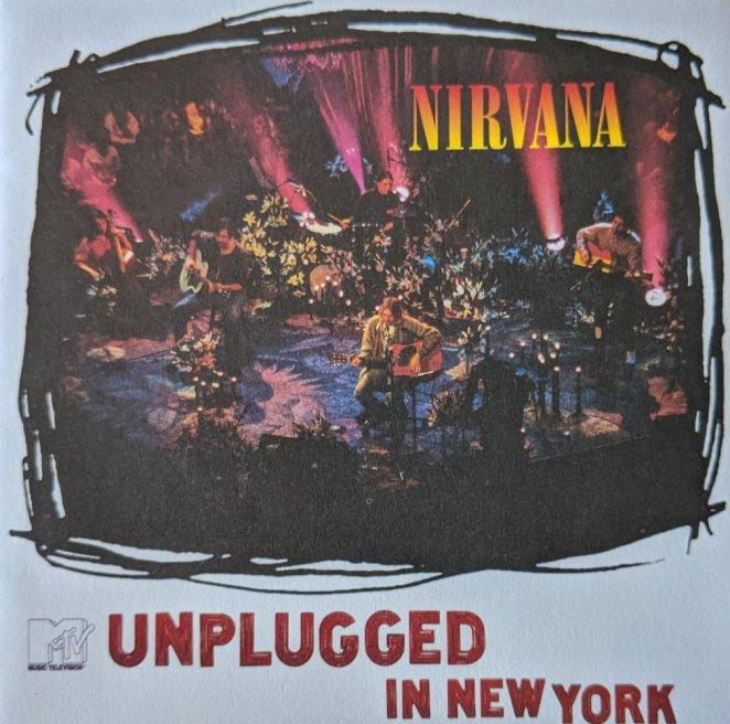 Nirvana MTV Unplugged in New York album cover