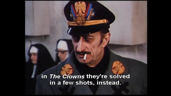 i clowns compared to other fellini films