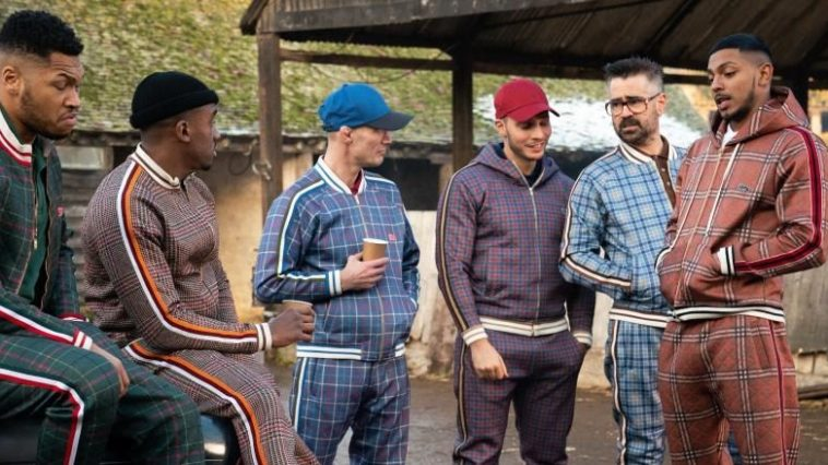 Coach, and his five wards, discuss a plan while dressed in their best tracksuits