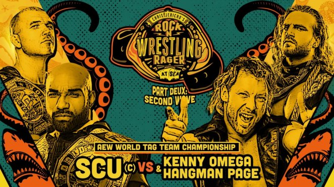 SCU vs Kenny Omega and Hangman Page
