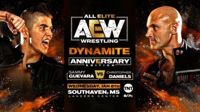 Sammy Guevara vs. Christopher Daniels