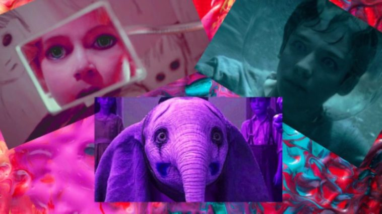 dumbo, big eyes and miss peregrine collage
