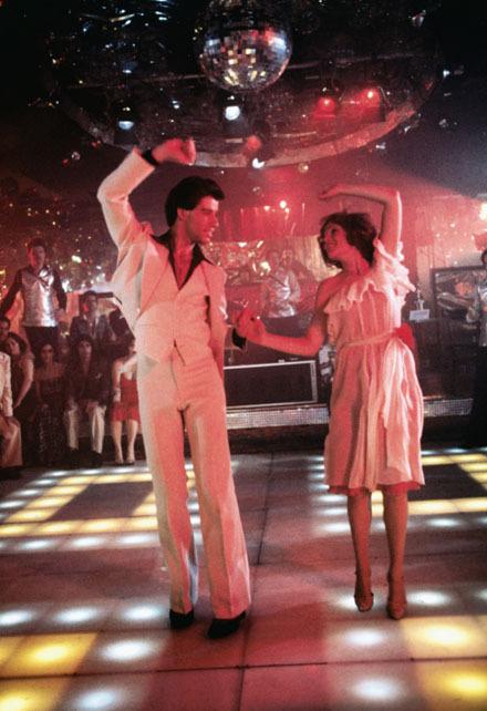 John Travolta in Saturday Night Fever