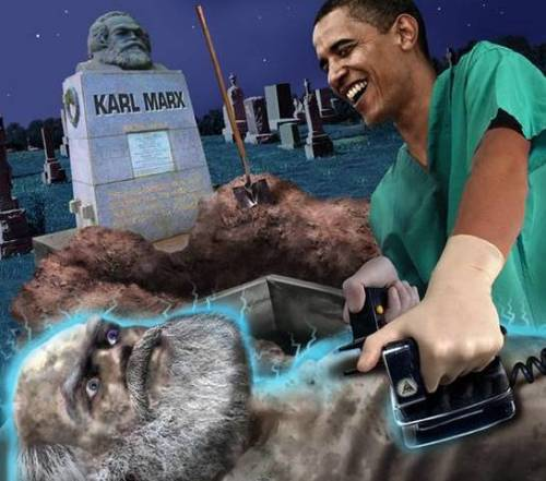 obama resuscitates zombie marx