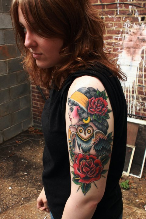 tattoo by the lovely valerie vargas.