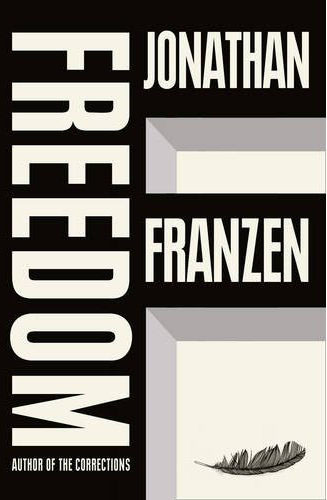 Bold and beautiful is the best way I can describe this cover. Seeing hardback at work everyday for the past few weeks has really made me want it, despite being previously unfamiliar with Franzen's work. Definitely the sign of a good jacket.