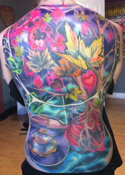 Jon McCann - Absolute Tattoo. Reno, NV