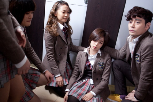 110111 Dream High's Twitter view in high-res (:
