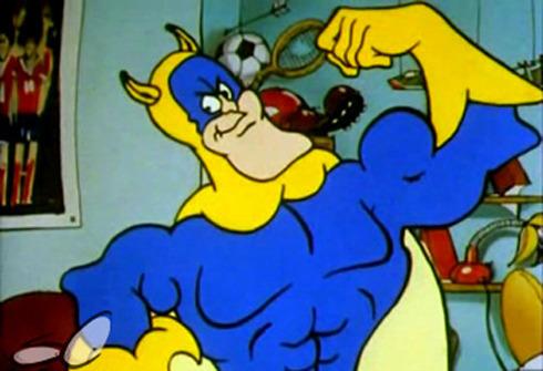 Cartoons Banana Man