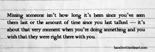 Handwritten Heart by: missemmmmmily|tumblr Submit a Handwritten Heart