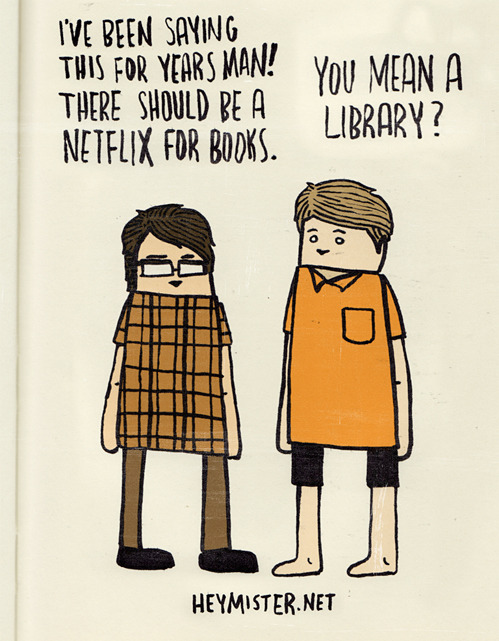 A Netflix for Books?