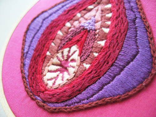 vagina dentata embroidery from Scarlet Tentacle's Kira Scarlet