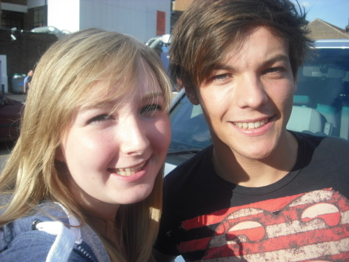 Me and Louis today!! :D