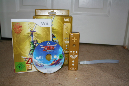 Skyward Sword unboxed