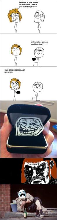 Troll Comic - The proposal
