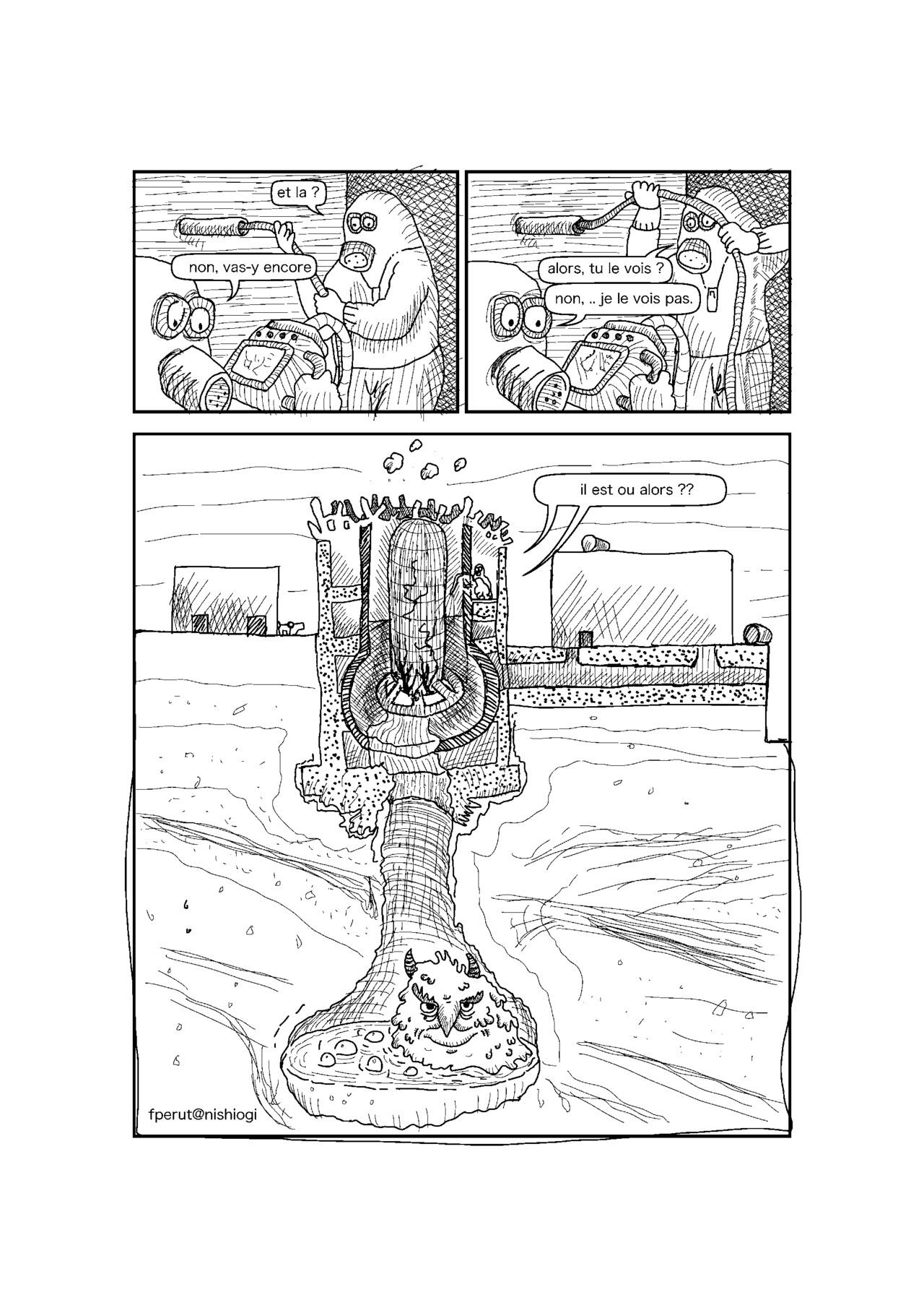 Endoscopic Exam of Fukushima Reactor