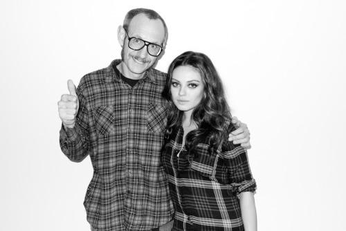 Me and Mila Kunis