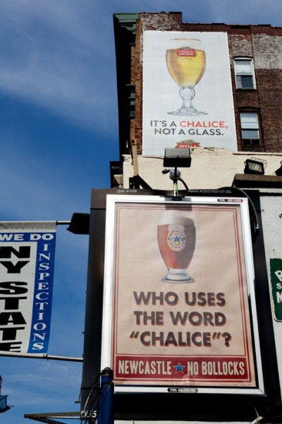 Stella Artois v Newcastle Brown Ale