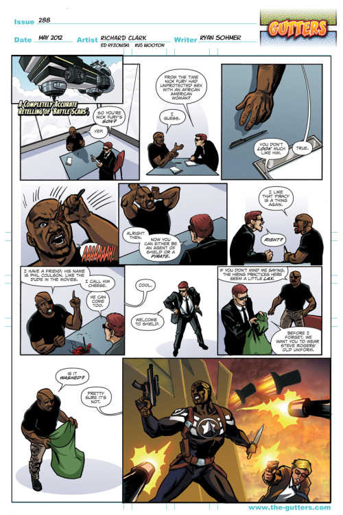 "wondygirl:  pocketfulofgeek:  Can I just say how much I hate the fact Marvel have JAMMED a character who looks like Samuel L Jackson fury into 616 Marvel comics? I mean, really? We already had Ultimate Nick Fury! Why have Marvel made their comics way more confusing rather than just saying ""Oh yeah the movie was a hybrid of all our stories, SMJ Fury is actually in THESE books, while normal Nick Fury is actually white"".  I don't get why they did this…  Can I say when I saw the preview for this I was fine with this, then I actually read the damn issue and I just became enraged.I want to travel in time and kick my past self for making that stupid post now. Also I like to profess am my undying hate for when comic books try to copy what is happening in the movies or Tv shows (because it usually happens in a stupid way and it disrupts the flow of the comics and they never last). I usually don't care when they introduce comic/tv shows/cartoons created characters into comics (After all that's how Harley and X-23 started) so I don't mind Coulson being there but the way Marcus Johnson is all SUDDENLY NICK FURY and Nick is all ""My infinity formula is gone so I am going to probably die any second"" was just so gimmicky and horrible.Well Daisy is now Director of SHIELD, hope that lasts, and if Nick Fury Jr (why did he even abandon his mother's given name for that, seriously?) takes the position from her I will seriously hit something. I am just glad I have other comics to turn to when I can't deal with Marvel and DC's bullshit, seriously, between this, Marvel's AvsX and most of DCnu being unreadable to me I am glad for Image, Dark Horse, IDW and 2000AD.  +1"