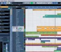 Project Window - Cubase Studio 4
