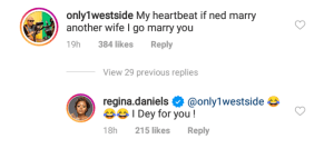 """""""If Ned Marries Another Wife, I Go Marry You"""" Regina Daniel's Brother Sammy Says."""