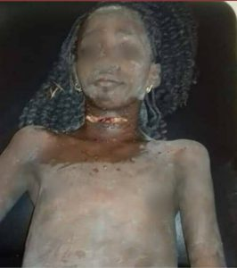 Missing 12-year-old girl found ALIVE with a slit throat after 5 days inside soakaway in Delta (photos)