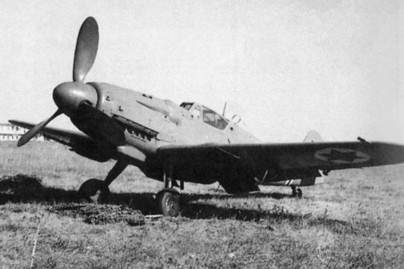 Ironically, the Cezch-built version of the Messerschmitt became the backbone of the nascent Israeli Air Force during its fight for independence in 1948. (IAF Museum)
