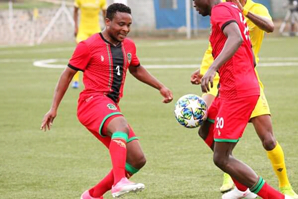 Flames in action against Burkina Faso