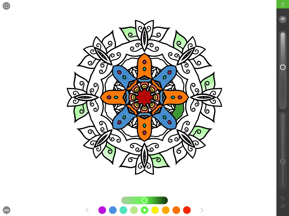 pigment brings adult coloring books to ipad pro with apple