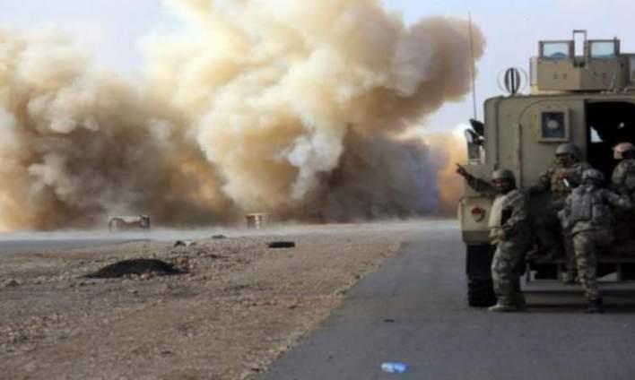 استهداف رتل للاحتلال الأمريكي جنوبي العراق