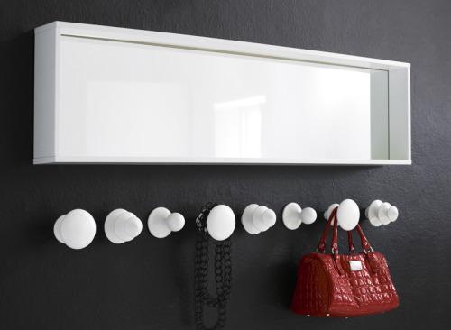 Chess wall hooks by Swedish designer Malin Lundmark for Karl Andersson & Söner.