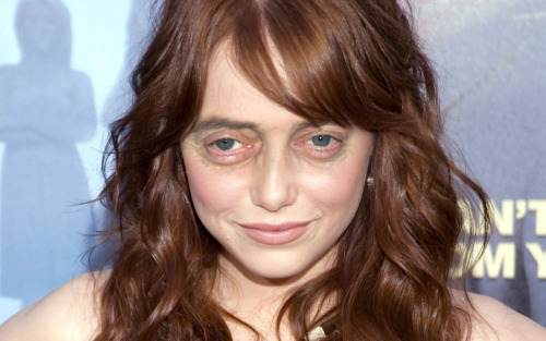 Emma Stone with Steve Buscemeyes. Thanks to so many for the suggestion.
