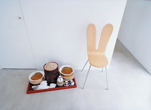Come spring, the bunny chair was ravenous. (Photo: Dean Kaufman; Dwell)