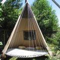 House ideas how cool is this repurpose the trampoline on imgfave