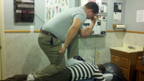 Chiropractic Tebowing