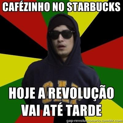 Cafézinho no starbucks….