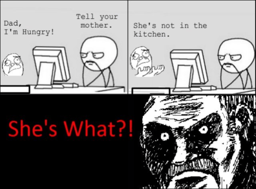 Trolling - Not in the kitchen