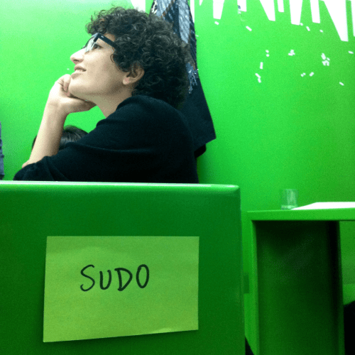 Silvia from SUDO make me a sandwich