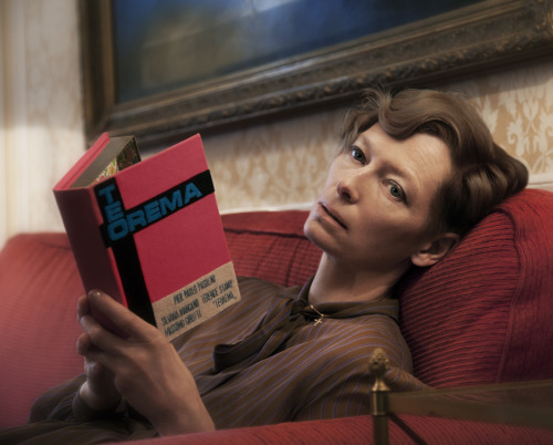"Tilda Swinton posed as Silvana Mangano in Pier Paolo Pasolini's  ""Teorema"""