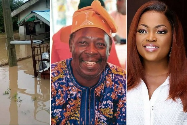 Nollywood Ace Actress Funke Akindele-Bello Gift Pa James a New Apartment