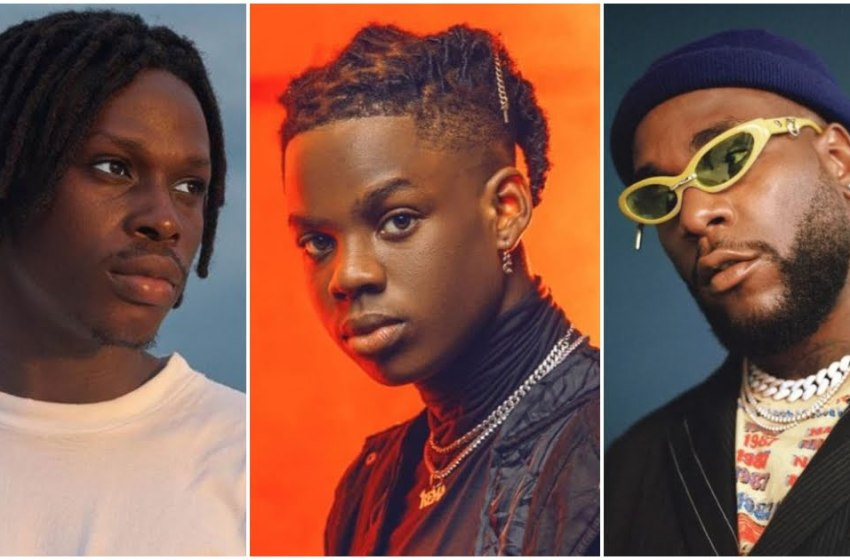 Fireboy, Rema and Burna Boy's Songs Feature on FIFA 21 Soundtrack.