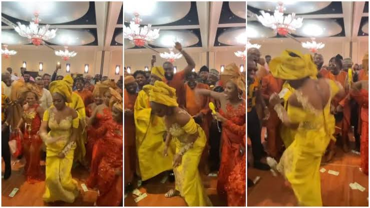 Watch viral video of bride who scattered dance floor with her moves, nobody could take their eyes off her.