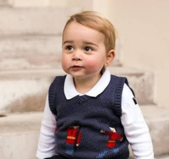 The Royal Family Shares a New Portrait of Prince George