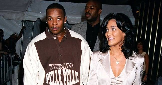 Dr. Dre and Nicole back in 96'