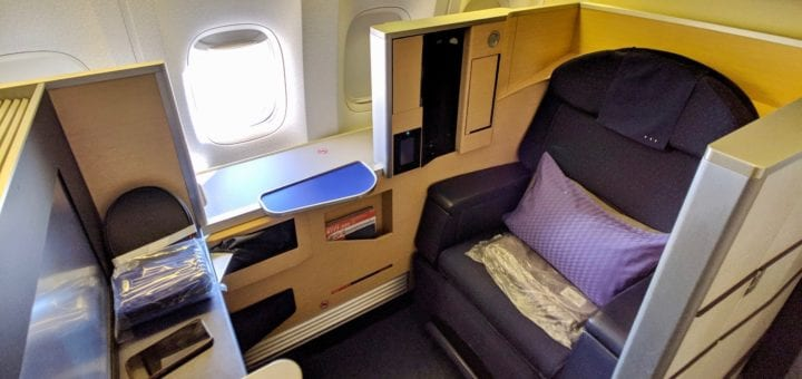 flight review ana first