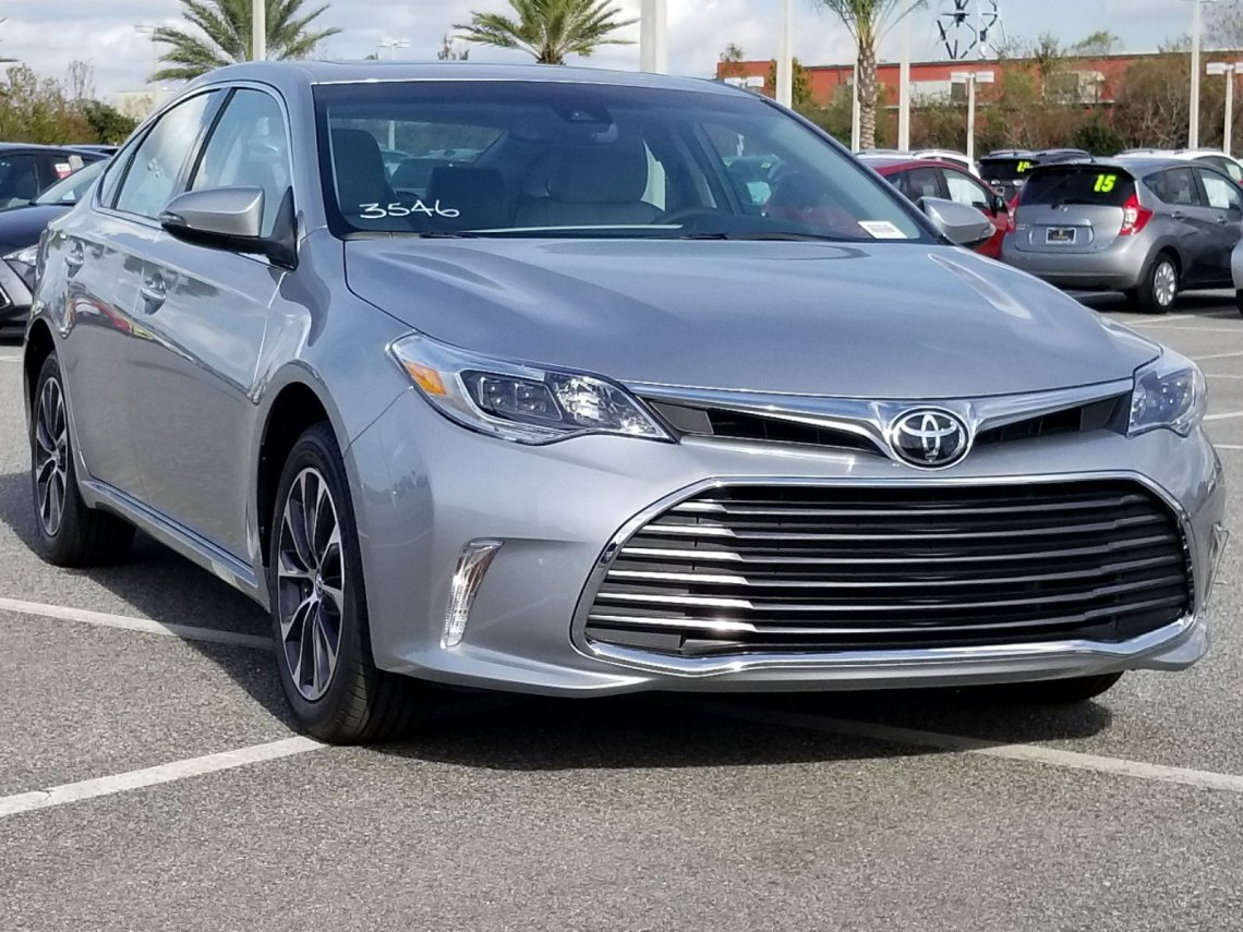 new 2018 toyota avalon xle premium 4dr car in orlando #8350020