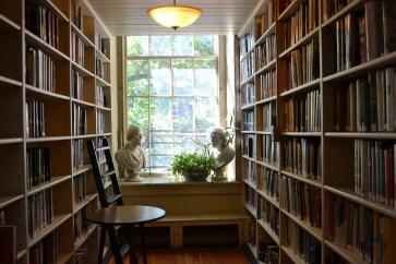 A pretty little corner in the library